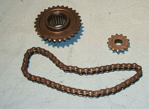 1976 Honda GL1000 Goldwing SPROCKET CHAIN GEAR STARTING STARTER