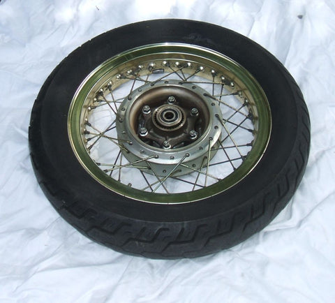 1976 Honda GL1000 Goldwing REAR WHEEL GOLD