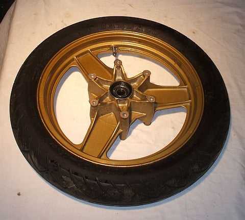 1986 Honda VFR700 Interceptor FRONT WHEEL