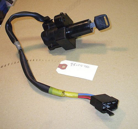 1995 Honda VFR750 Interceptor Ignition Switch W Key