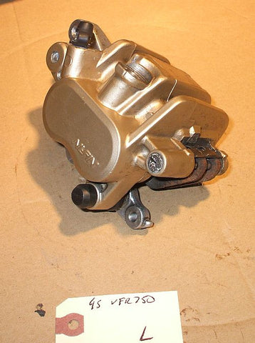1995 Honda VFR750 Interceptor Front Brake Caliper Left L VFR 750