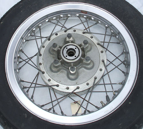 1976 Honda GL1000 Goldwing REAR WHEEL