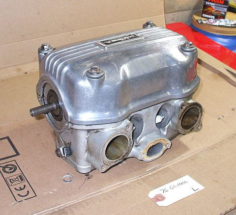 1976 Honda GL1000 Goldwing COMPLETE CYLINDER HEAD CAM SHAFT VALVE LEFT SIDE