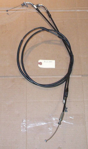 1976 Honda GL1000 Goldwing CABLE THROTTLE A B