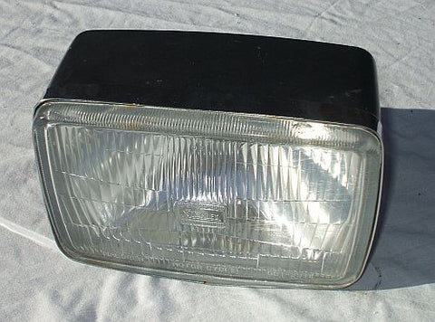 1983 Honda CB650 Nighthawk HEADLIGHT CASE BUCKET W RIM Head Light