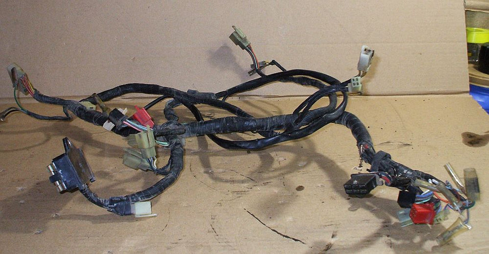 1981 Honda GL1100 GOLDWING Wire Wiring Harness – 5th Gear Parts5th Gear Parts
