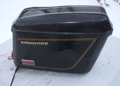 1981 Honda GL1100 GOLDWING SADDLE BAG R RIGHT SIDE LUGGAGE