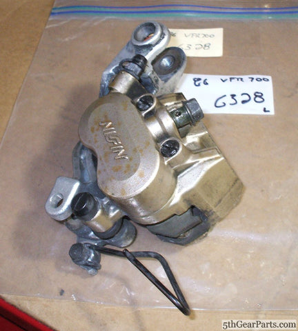 1986 Honda VFR700 Interceptor CALIPER  FRONT BRAKE L LEFT 86 VFR