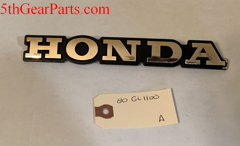 1980 Honda GL1100 EMBLEM BADGE FRONT FAIRING 80 81 82 83