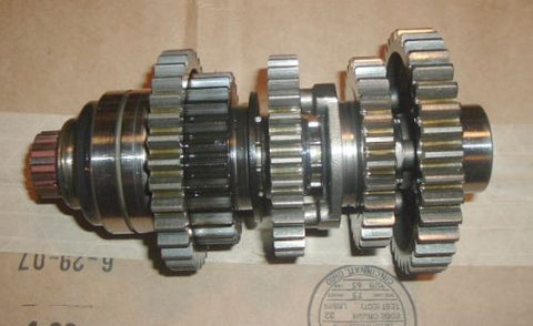 1980 Honda CB750K TRANSMISSION GEAR CLUSTER COUNTER SHAFT