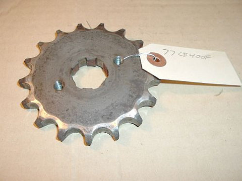 1977 Honda CB400 Super Sport COUNTER SHAFT SPROCKET