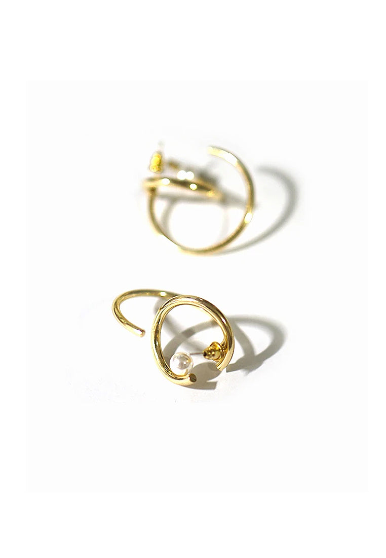 Abel Abstract Statement Earrings