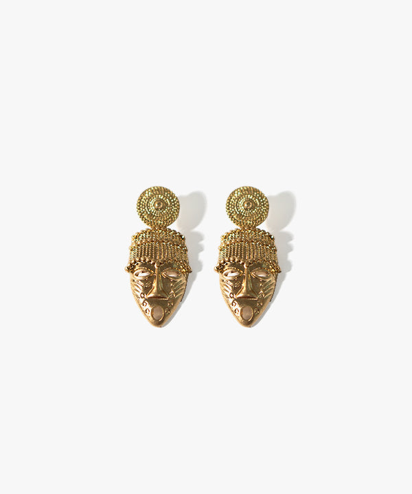 Abena Face Earrings