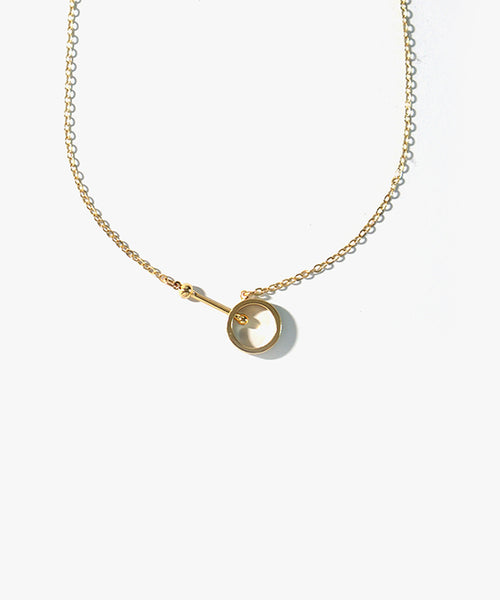 Agnes Basic Necklace (Gold)