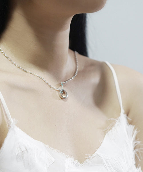 Agnes Basic Necklace (Silver)