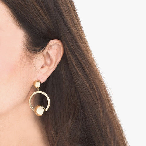 Aida Loop Earrings