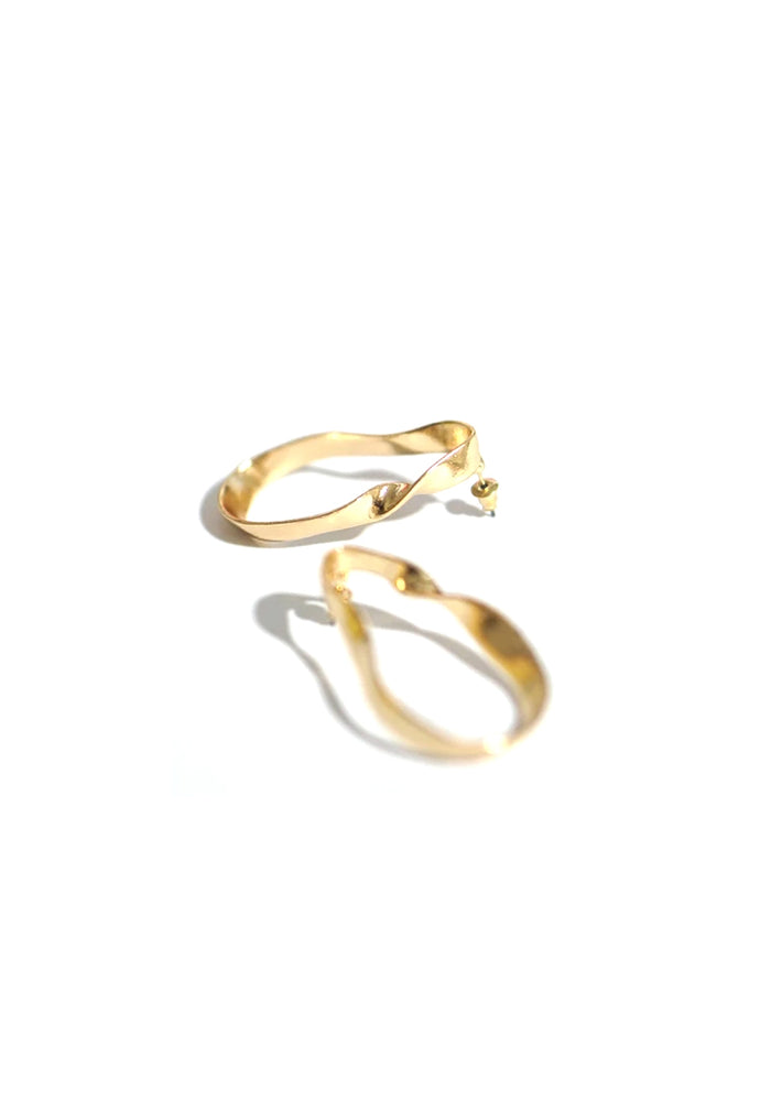 Alfe Irregular Loop Earrings