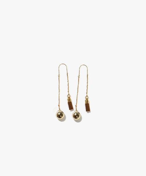 Analeigh Pearl and Tassel Earring