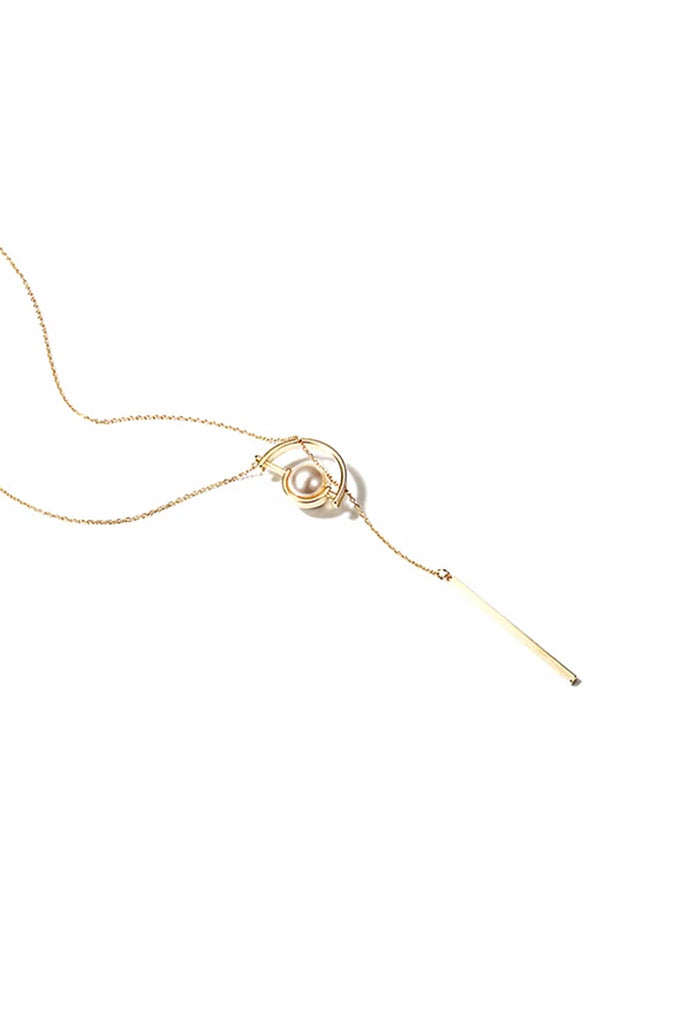 Anderson Longline Necklace (Gold)