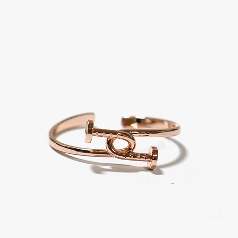 Andie Industrial Cuff (Rosegold)