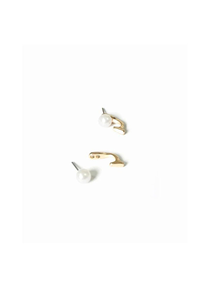Armelle Pearl & Hook Earrings