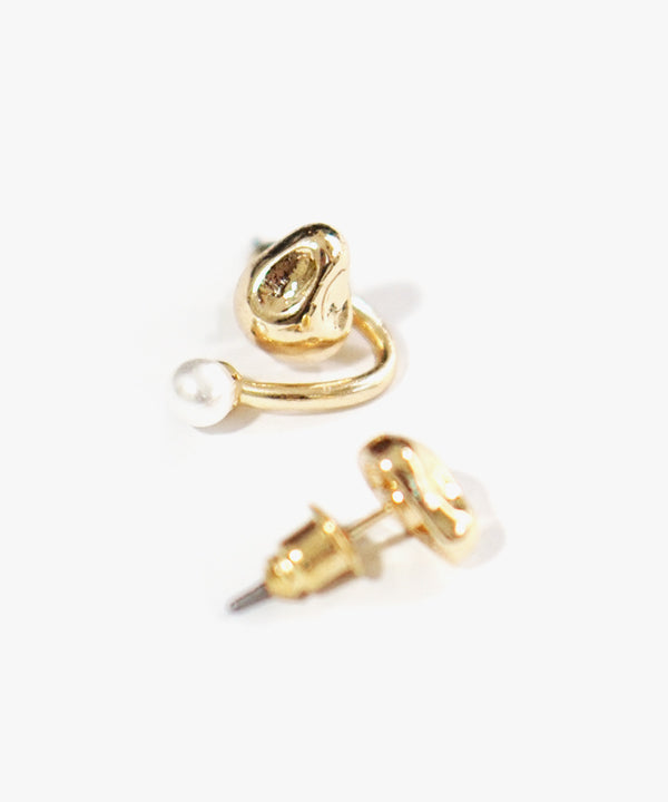 Esme Mismatched Earrings (Gold)