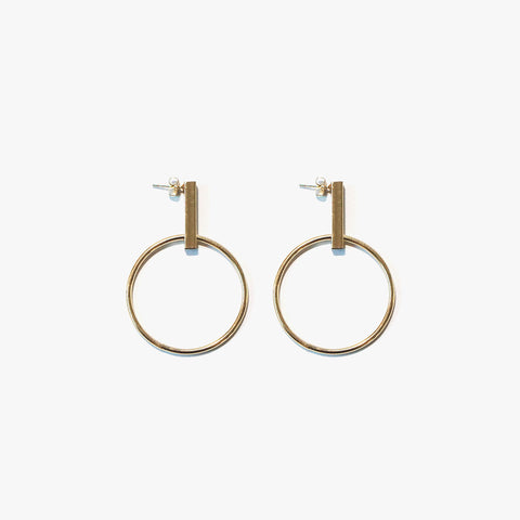 Austina Loop Earrings