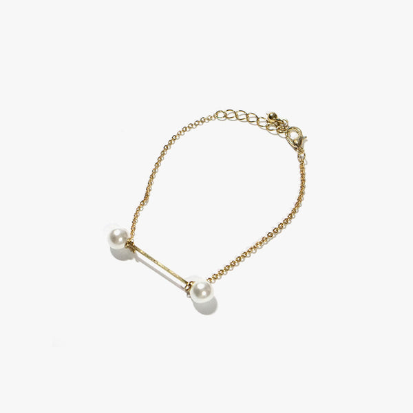 Avril Thin Bracelet (Gold)