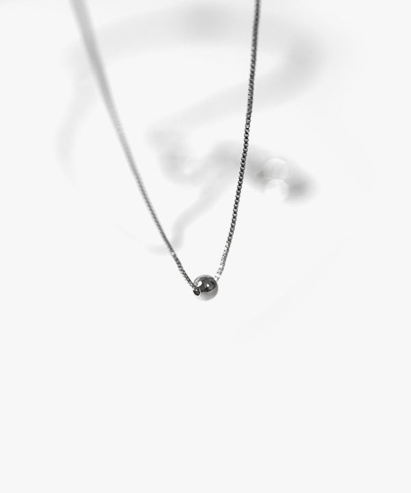 Benley Ball and Loop Layered Necklace