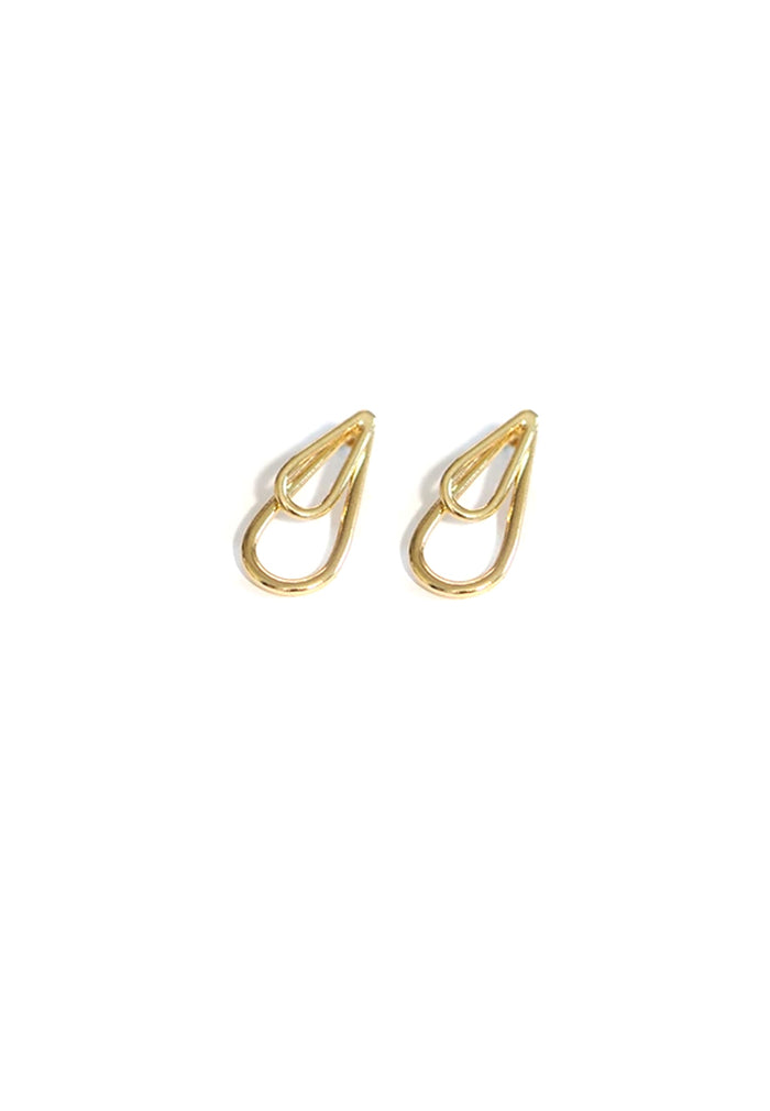 Barrington Teardrop Earrings (Gold)
