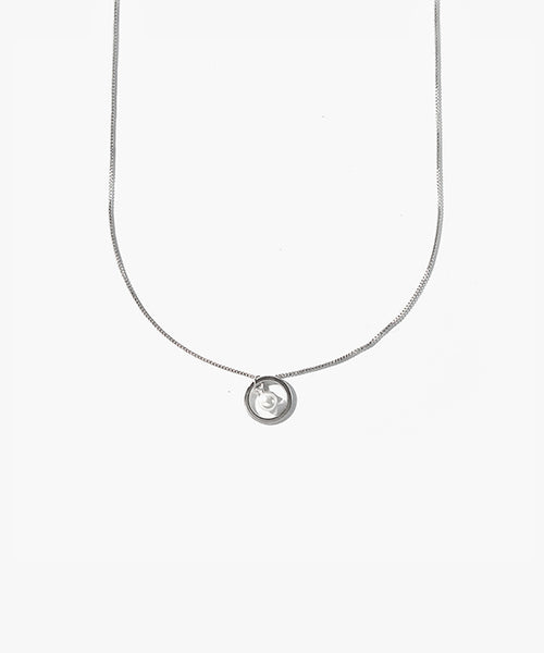 Berlin Pearl Loop Necklace
