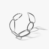Berlin Twist Bangle (Silver)