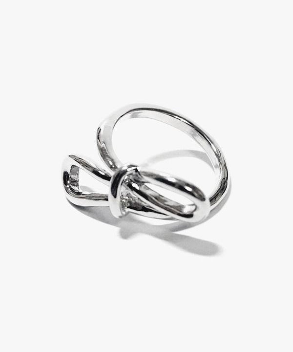 Bette Ribbon Ring (Silver)