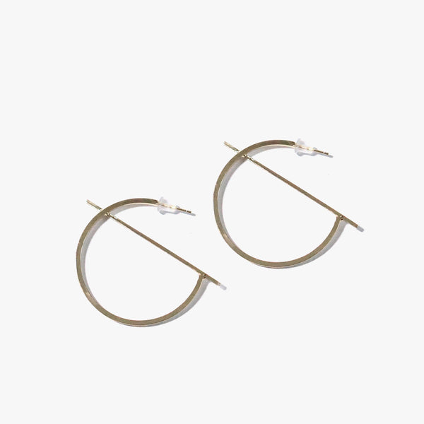 Boliva Arc Earrings (Gold)