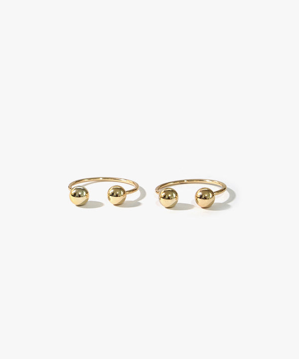 Cassidy Bearrings Earrings (Gold)