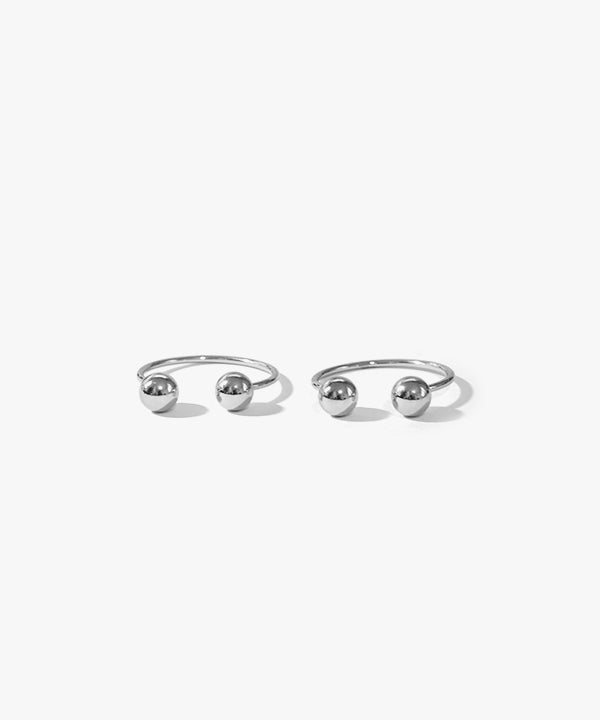 Cassidy Bearrings Earrings (Silver)
