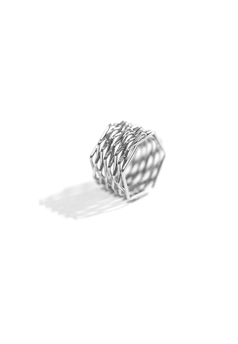 Demi Starcross Ring (Silver)