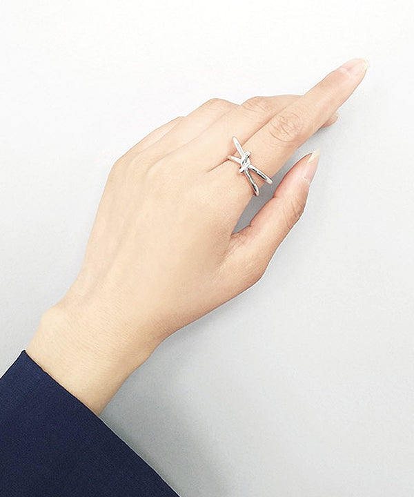 Edel Knot Ring (Silver)