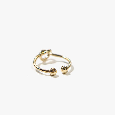 Ellie Knot Ring (Gold)