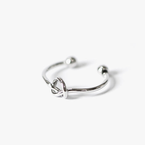Ellie Knot Ring (Silver)