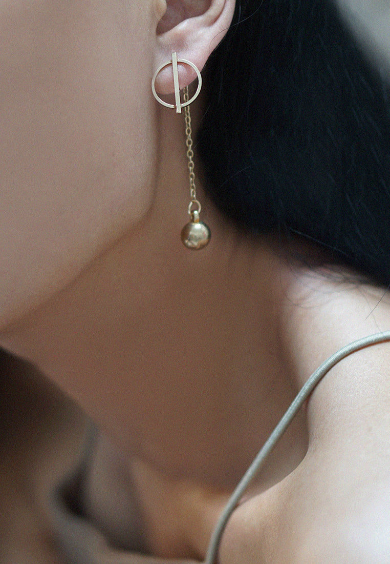 Elstera Drop Earrings (Gold)