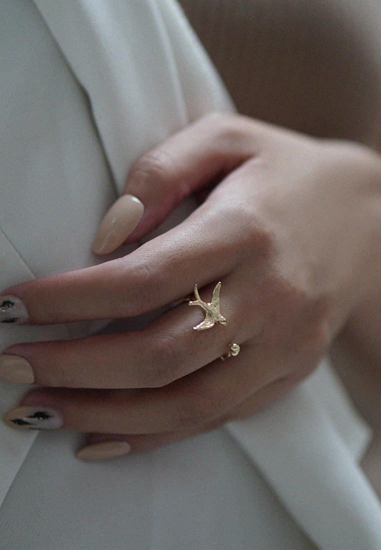 Emi Dove Ring (Gold)