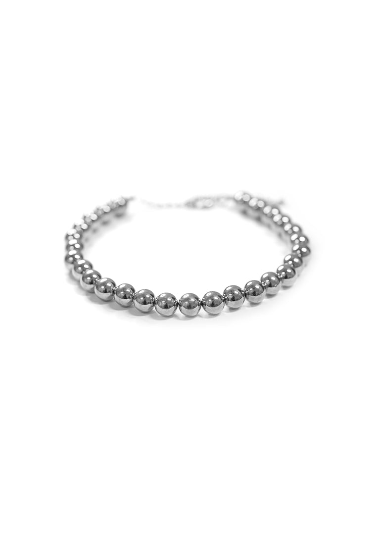 Obadia Short Chain Bearings Necklace (Silver)