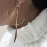Felicity Arc Drop Earclips