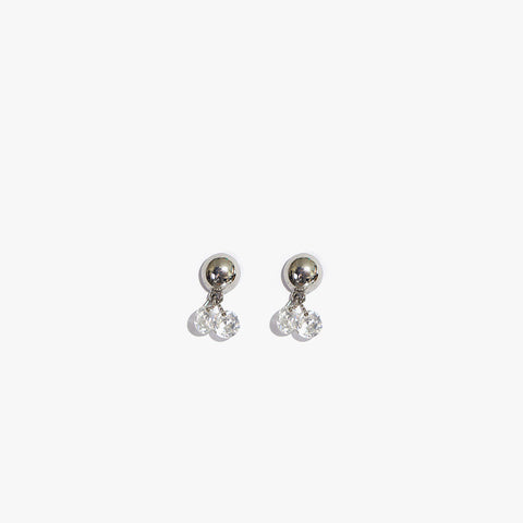 Gemma Faux Rhinestone Earrings