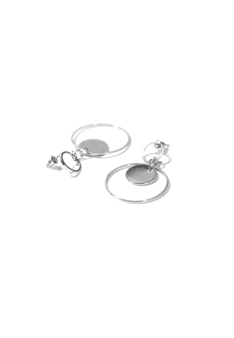 Hemma Loop Earrings (Silver)