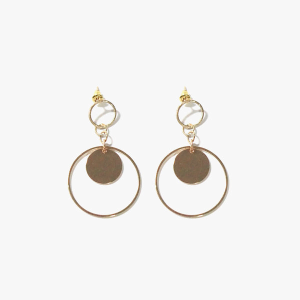 Hemma Loop Earrings (Gold)