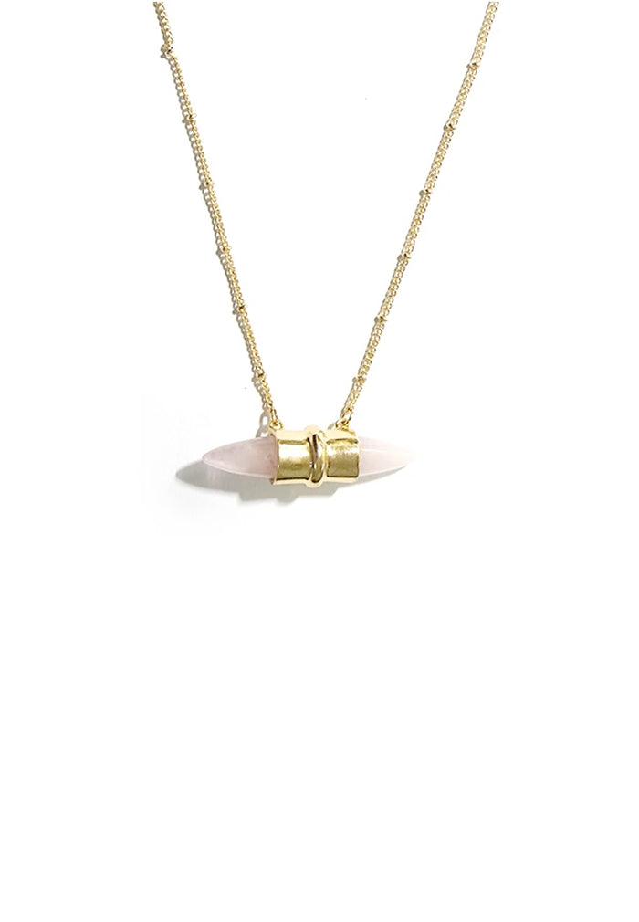 Jorie Faux Stone Necklace
