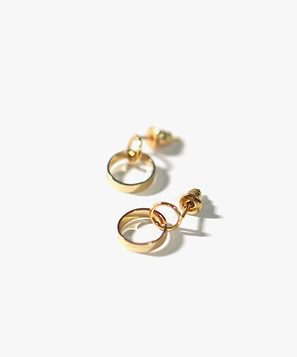 Kyo Basic Earrings (Gold)