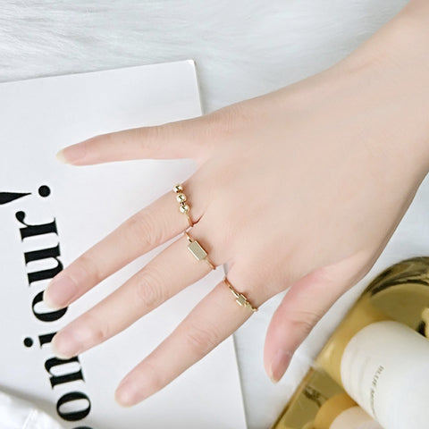 Mauee Ring Set (Gold)